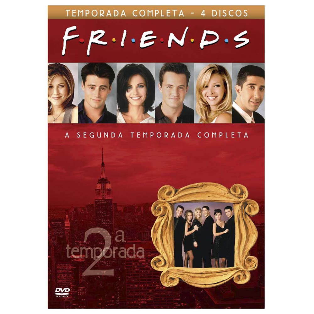 Friends---Segunda-Temporada
