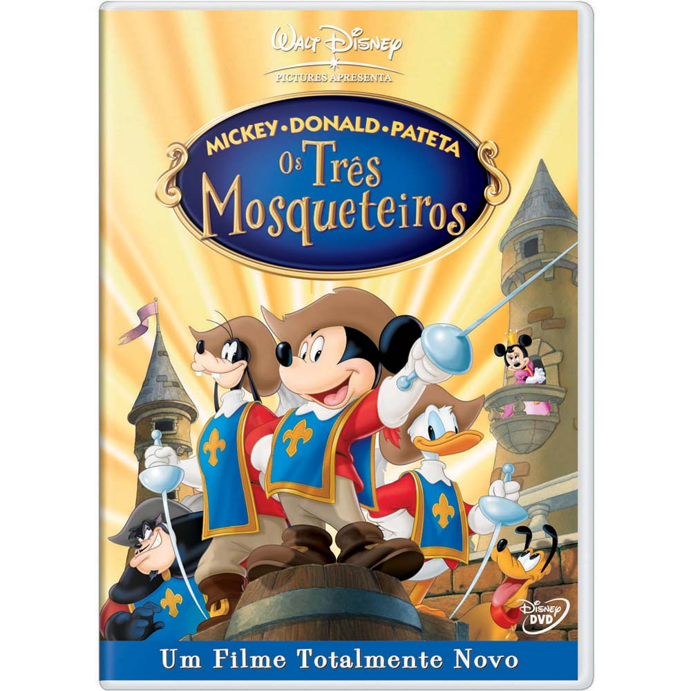 DVD-Mickey-Donald-e-Pateta-em-Os-Tres-Mosqueteiros-Mickey-Donald-Goofy-in-The-Three-Musketeers-74336